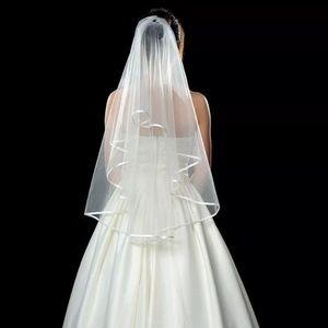 Ribboned Edged Veil